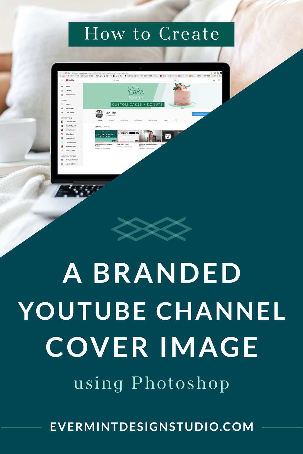 How to Create a Branded YouTube Channel Cover Using Photoshop