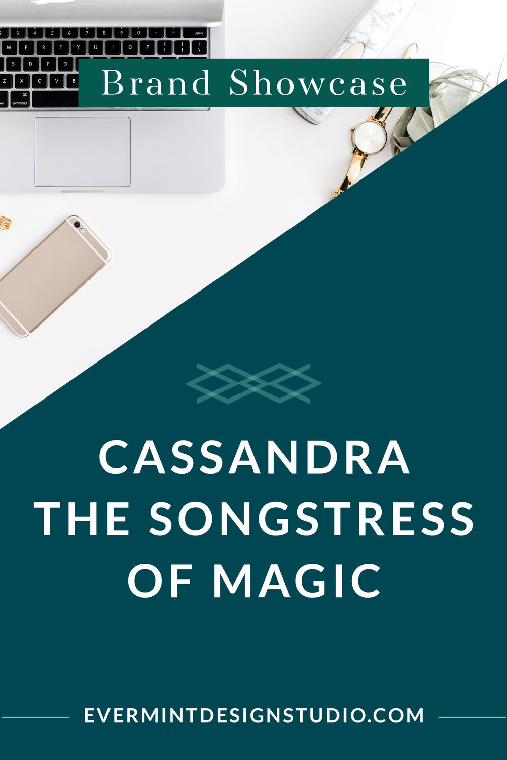 Brand and Web Design Showcase - Cassandra