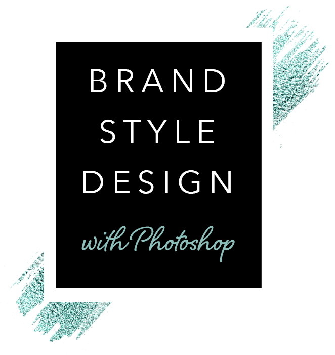 brand style design with Photoshop