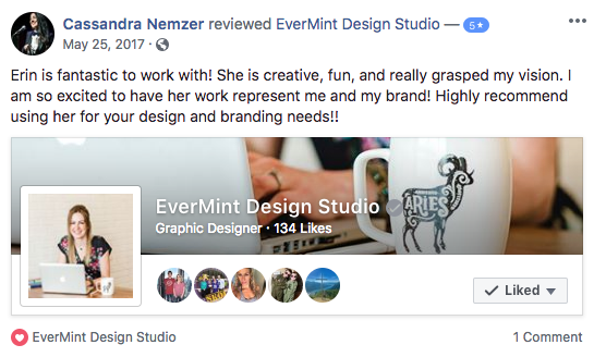 Review of EverMint Design Studio