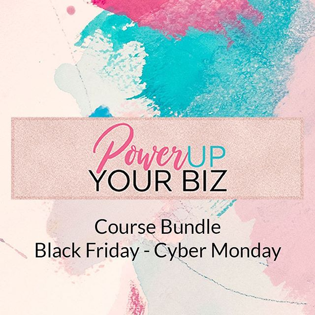 ✨So excited to be partnering with 5 other amazing entrepreneurs to bring you the Power Up Your Biz Bundle this Black Friday through Cyber Monday! - ⭐️In this bundle, we're covering marketing, SEO, branding, copywriting, and blogging – they're all so complementary to each other and, really, you can't do one without the other. - ⭐️What good is SEO if your website copy is…dry, dull, and devoid of personality, yknow? - ⭐️Seriously, the only way I could possibly give you this bundle and share all of this knowledge (and value!) with you is because these ladies and I gathered up our favorite tools and resources to help propel your business forward. - 👉🏻Just head to the link in my bio to join the waitlist and you'll be the first to know when the cart opens!