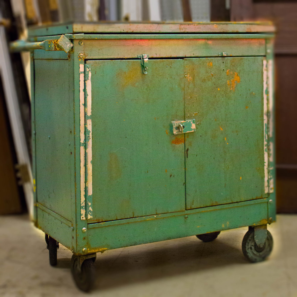 Repurposed Work Cart | Refindings York, PA | Architectural Salvage & Antiques