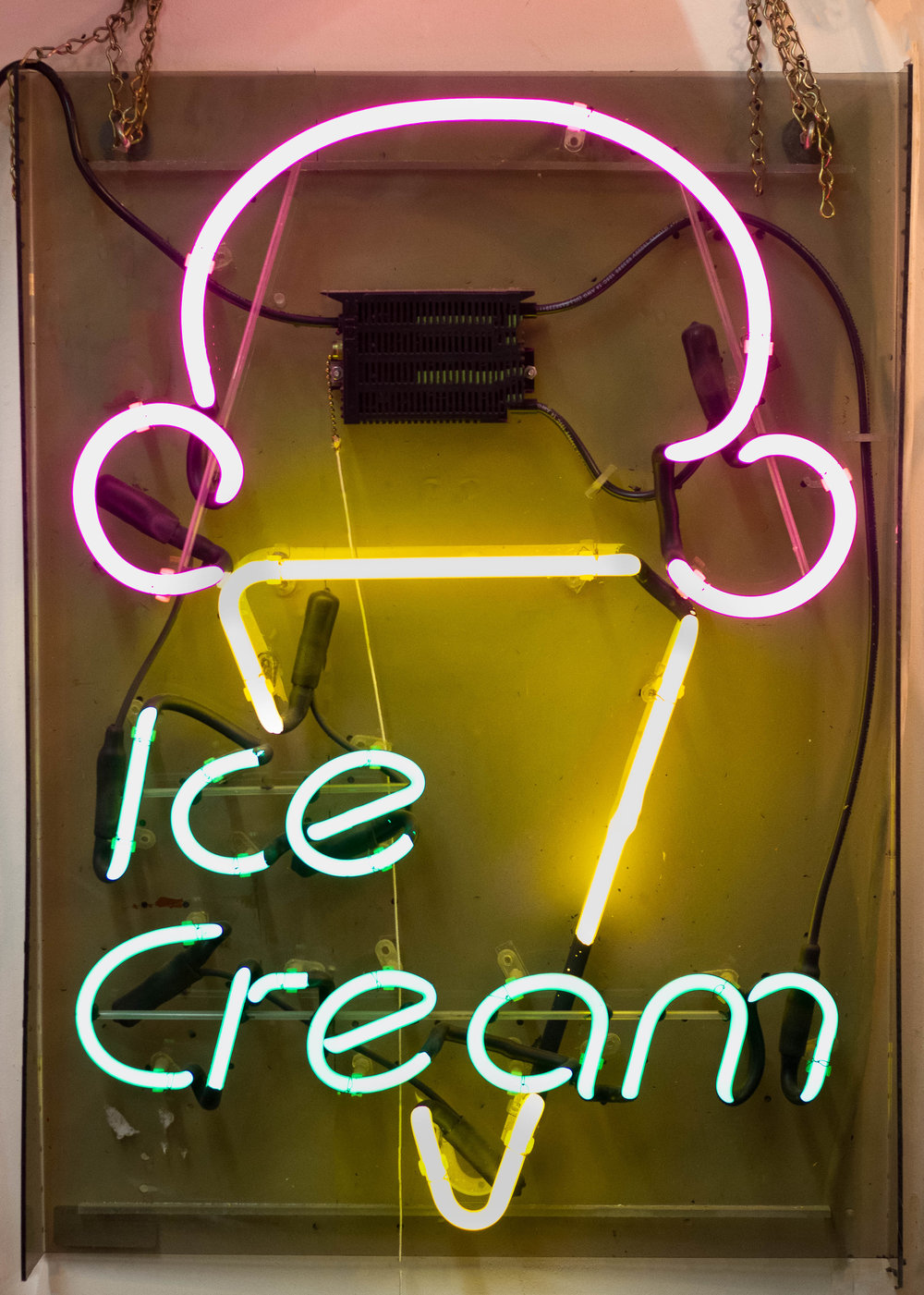Ice Cream Neon Sign | Refindings York, PA | Architectural Salvage & Antiques