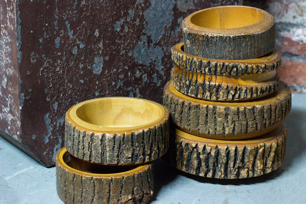 Tree Trunk Bowls | Refindings York, PA | Architectural Salvage & Antiques