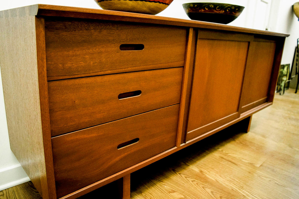 Mid Century Teak Credenza | Refindings York, PA | Architectural Salvage & Antiques