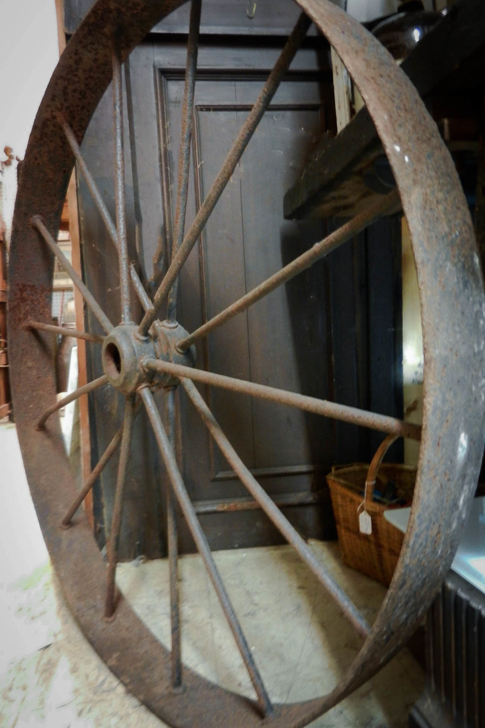 Antique Wagon Wheel | Refindings York, PA | Architectural Salvage & Antiques
