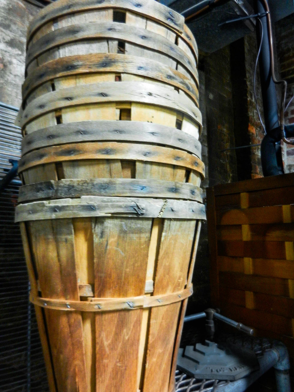 Tall Wooden Bushel Baskets | Refindings York, PA | Architectural Salvage & Antiques