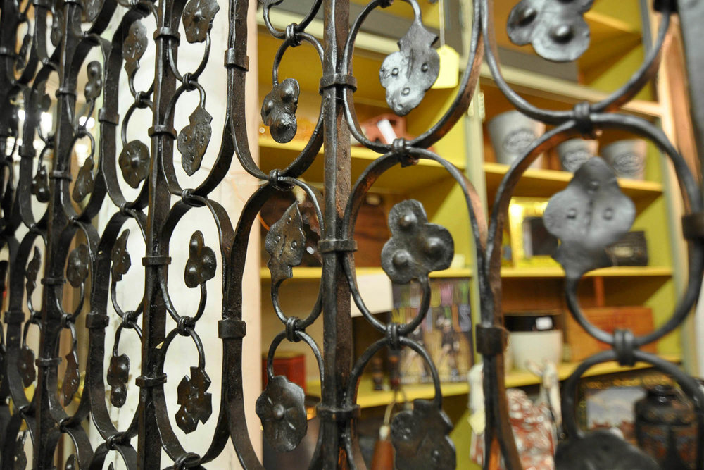 Wrought Iron Gate | Refindings York, PA | Architectural Salvage & Antiques