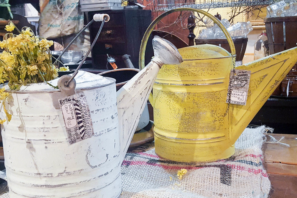 Vintage Watering Cans | Refindings York, PA | Architectural Salvage & Antiques