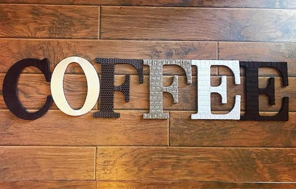 Coffee Theme Home Decor