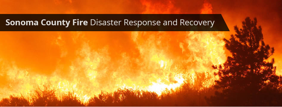 Supporting recovery efforts after Oct. 2017 wildfires