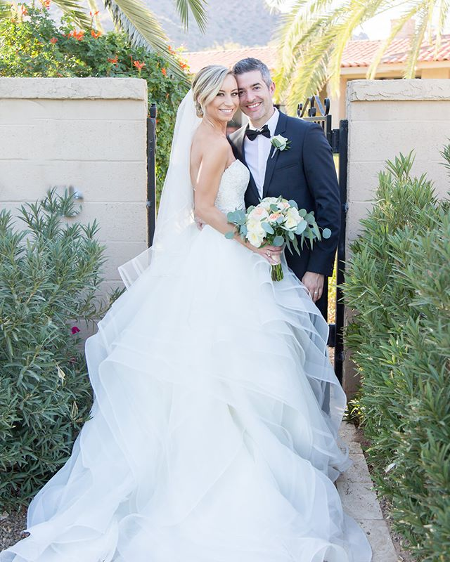 Couldn't let this day pass without wishing this beautiful couple a happy first anniversary! @mandachaps @dmchaps Photo @erinashleephotography  Floral @jandekkerdesigns