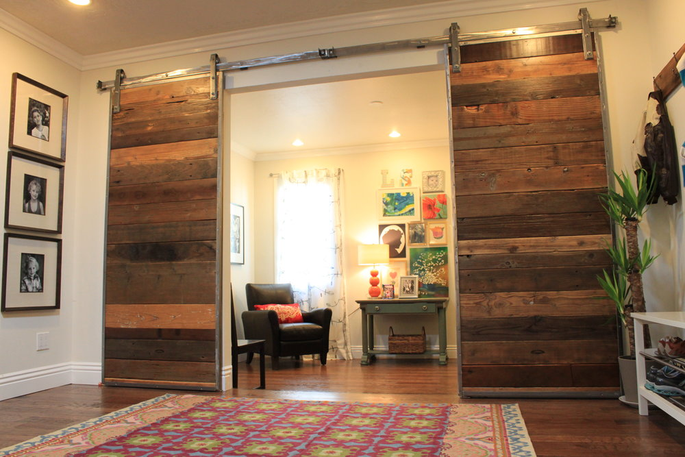 Barn Doors & Wood Cladding