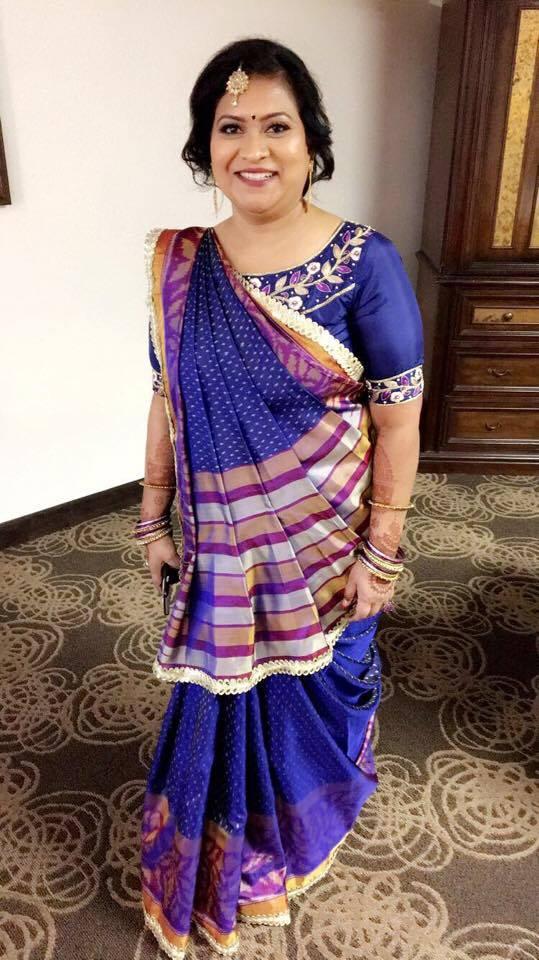 Gujarati Silk Style