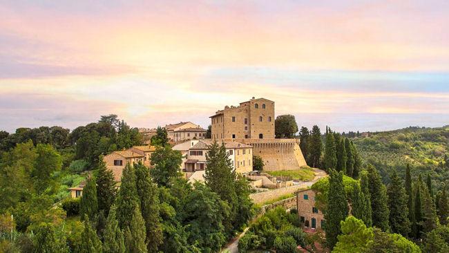 Image; Castelfafi by luxurytravelmagazine.com