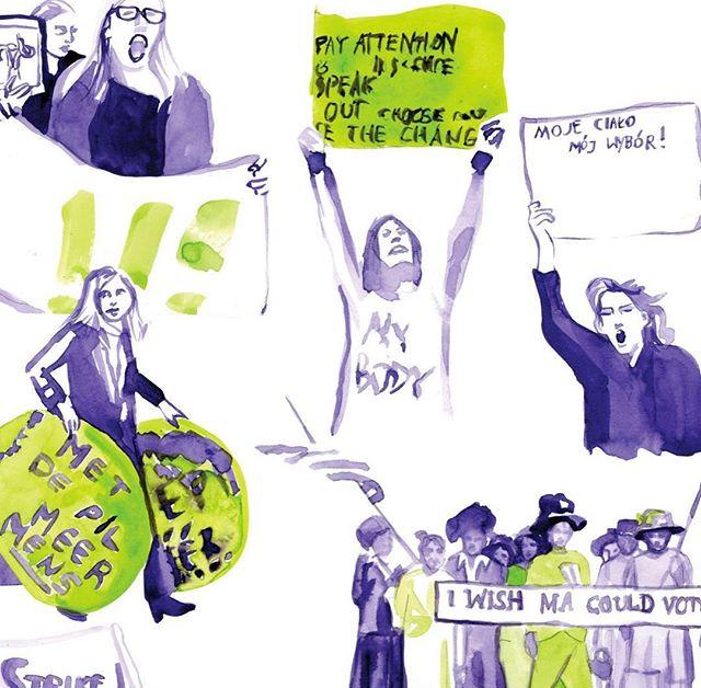 Każda kolejna kolekcja @acephalafashion realizuje idee związane z kobietami i gra z utartymi wizerunkami kobiecości. Nowa kolekcja jest zainspirowana ruchem sufrażystek 💪🏼 a wiecej o marce i kolekcji na Delicjach, link w bio