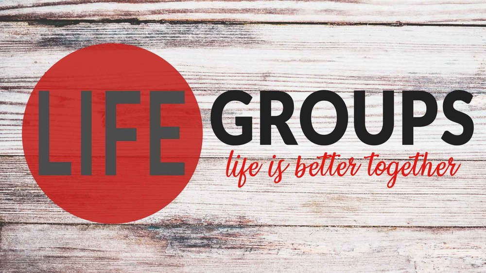 Life Groups - Life groups are a great way to connect to other believers in the church.Contact the church office to find a Life Group near you.