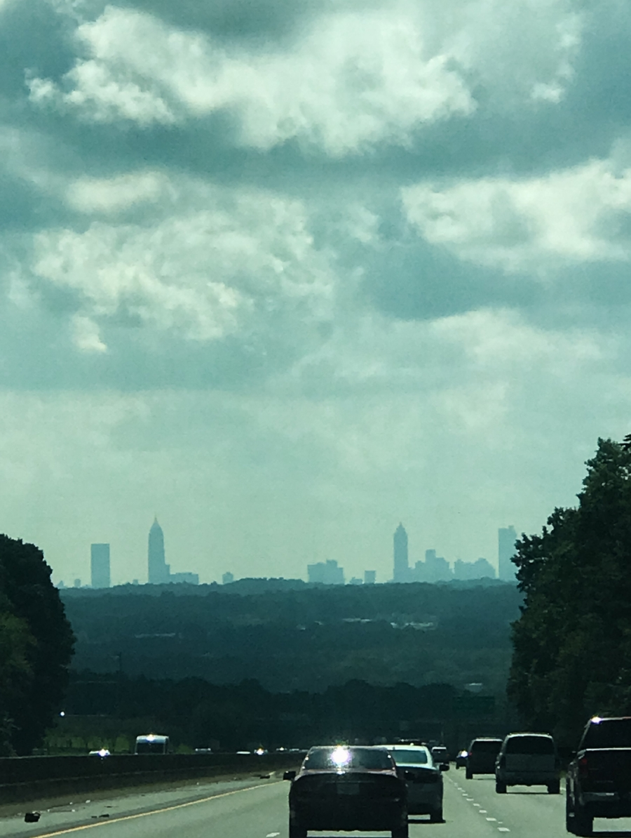 Low quality pic, but I wasn't planning on using it. Atlanta, here we come!