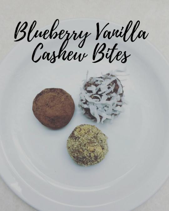 blueberry cashew bites
