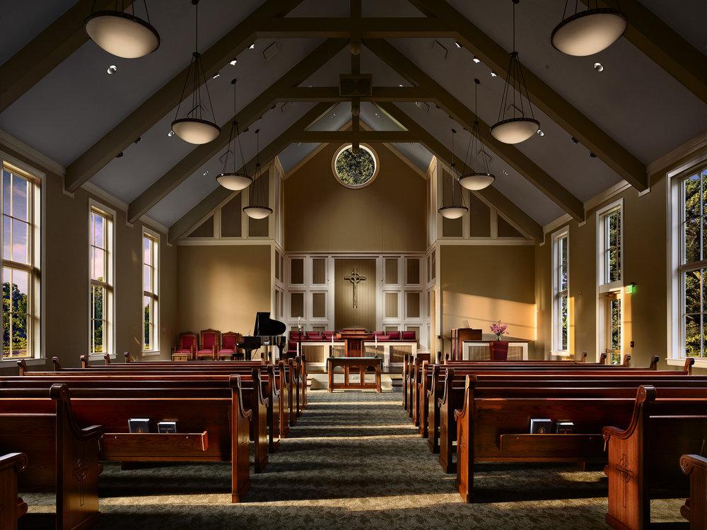 Hord Architects_Cordova Presbyterian_Church_Sunrise Interior (2).jpg