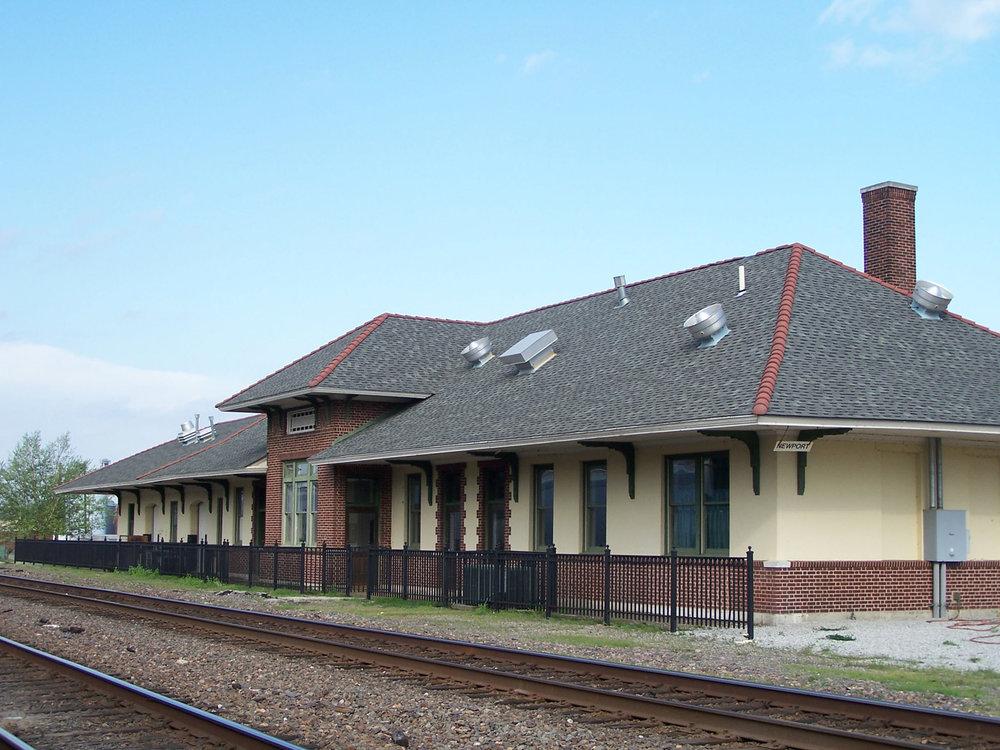 Newport Train Depot
