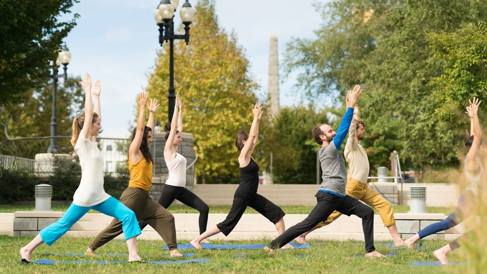 Yoga in the Park - Downtown Asheville
