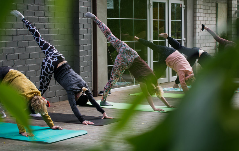 Private Group Yoga Class Asheville