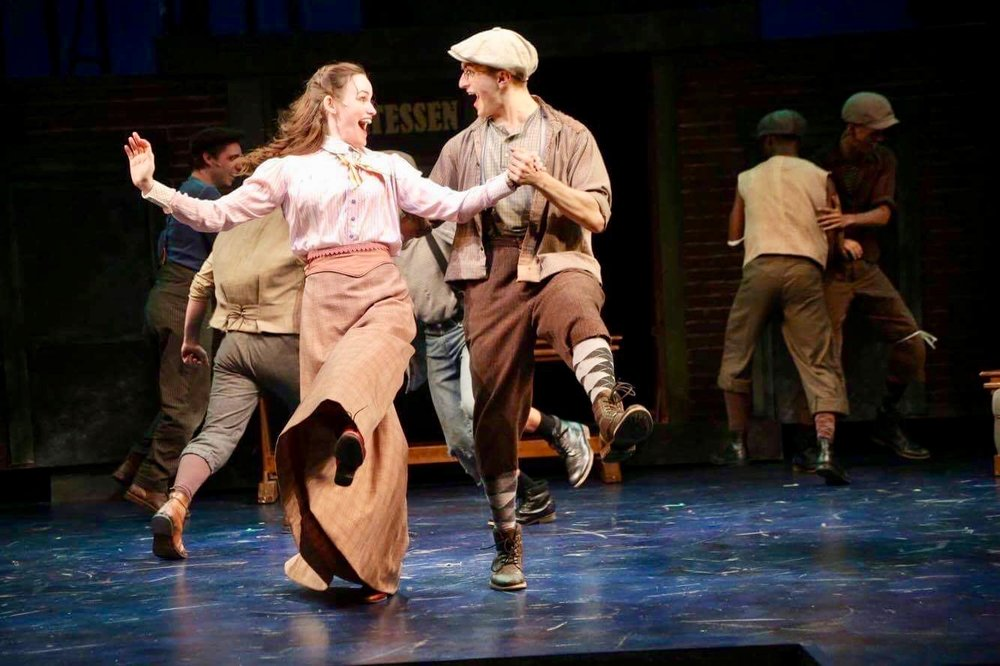 NEWSIES (Specs) / Connecticut Repertory Theatre / 2017