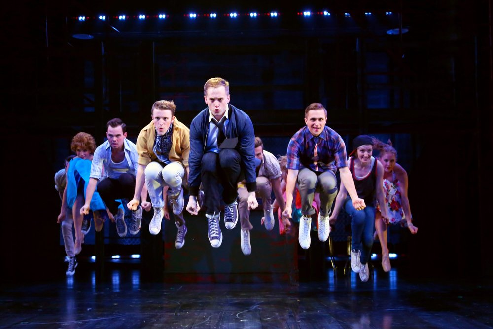 WEST SIDE STORY (A-Rab) / Connecticut Repertory Theatre / 2016