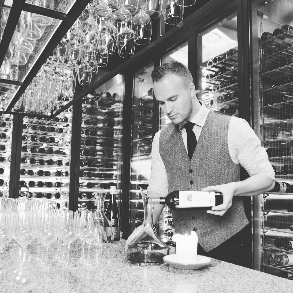 About your personal sommelier Josh James -