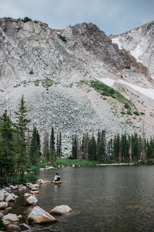 Lake Marie, Wyoming