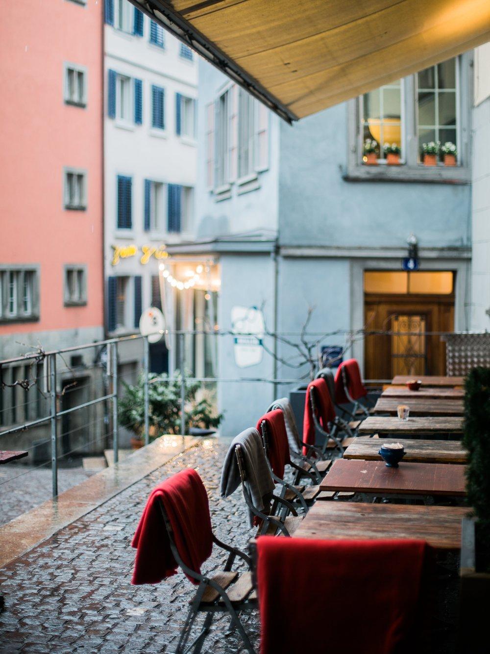 Coffee shop in Zurich