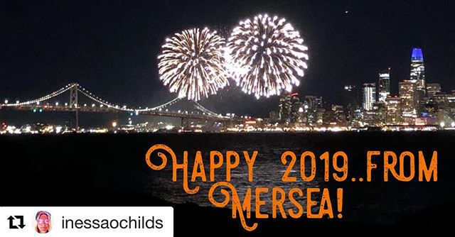 Happy 2019 to ALL our friends, family and guests! #2019 #merseasf #newyear