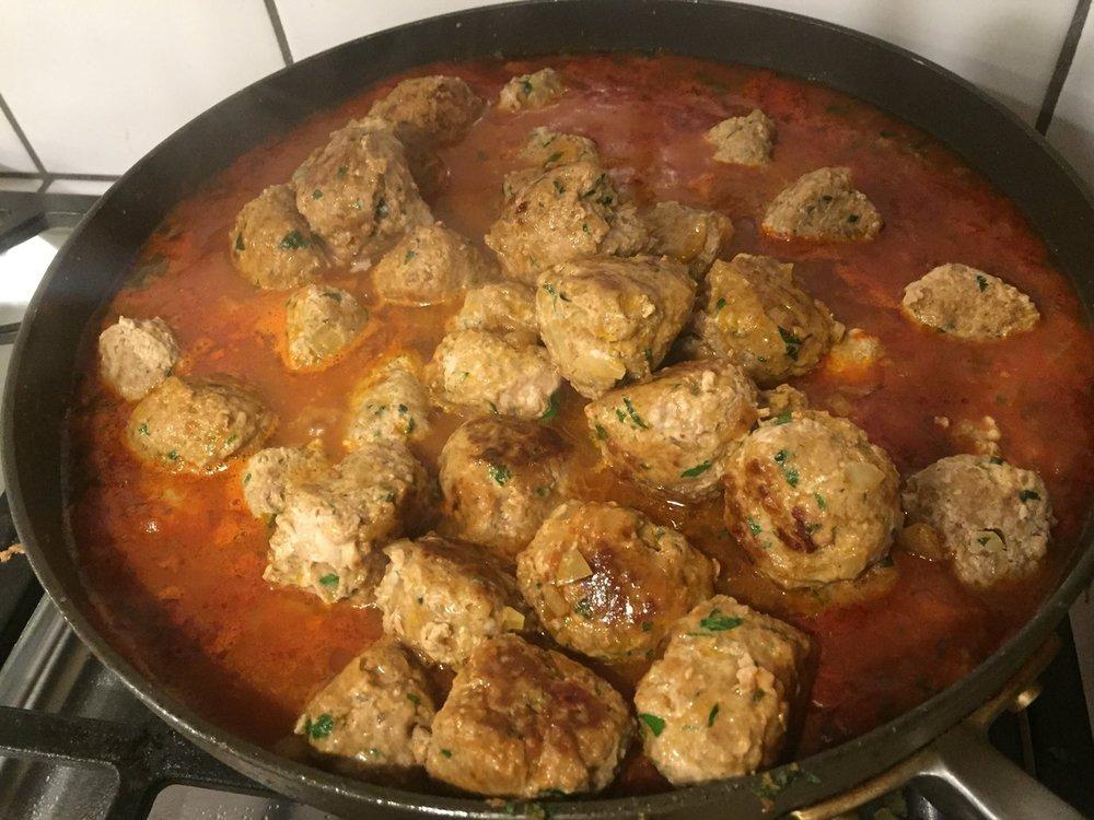 Moroccan Meatballs , Chef Joyce Goldstein