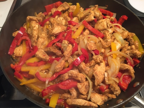 Cooking Light Fajitas