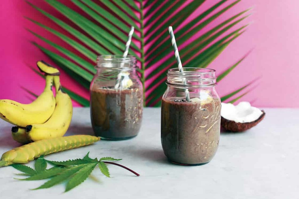 Cannabis Smoothie Raw