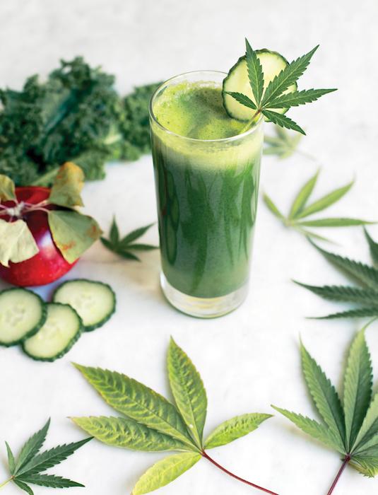 Green Cannabis Juice
