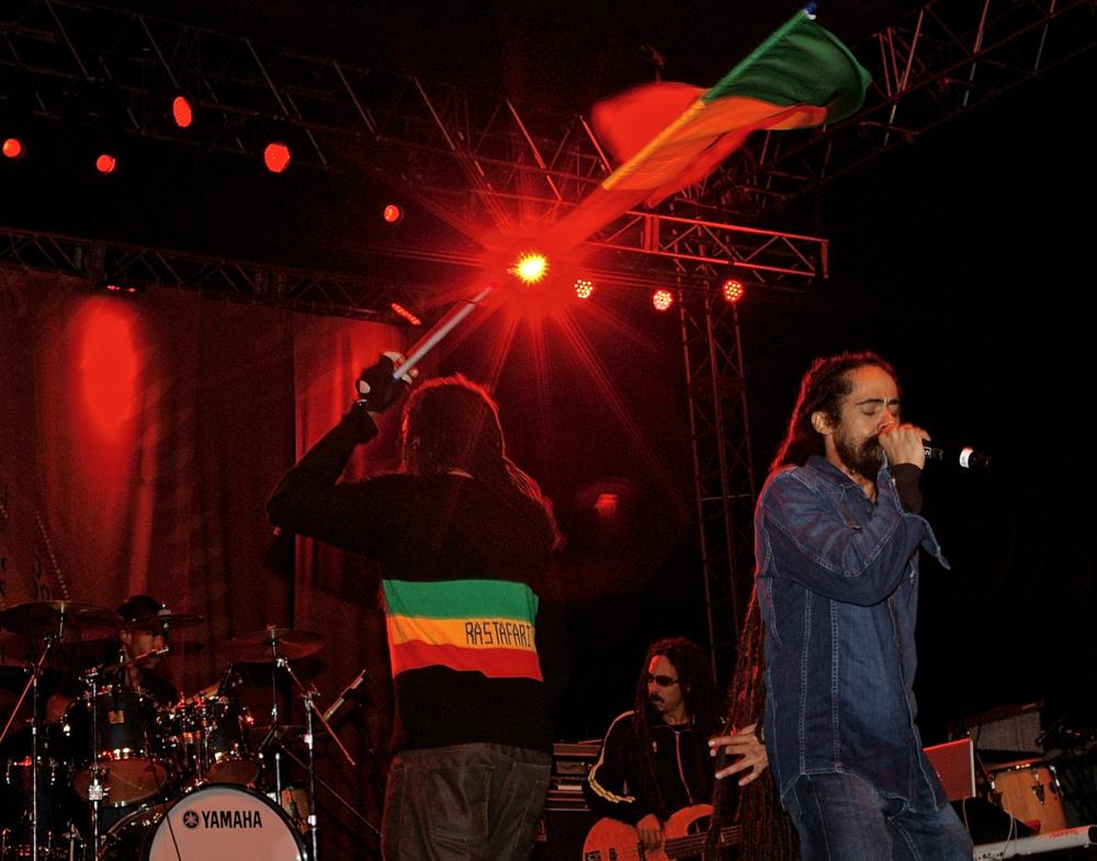 Damian Marley by Joe McLaren