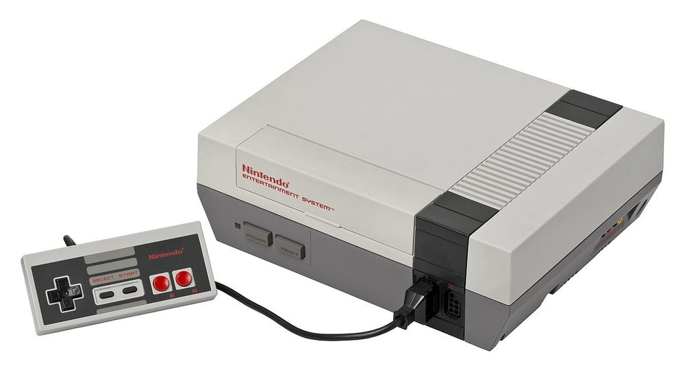The original Nintendo Entertainment System (NES) was released in 1985.