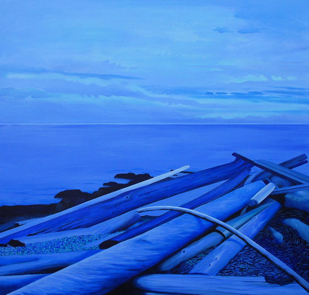 Ross Bay Blue Hour
