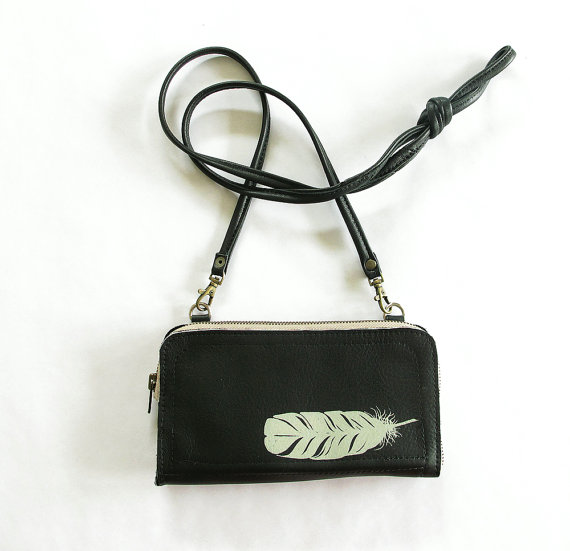 Bonspiel Feather Clutch