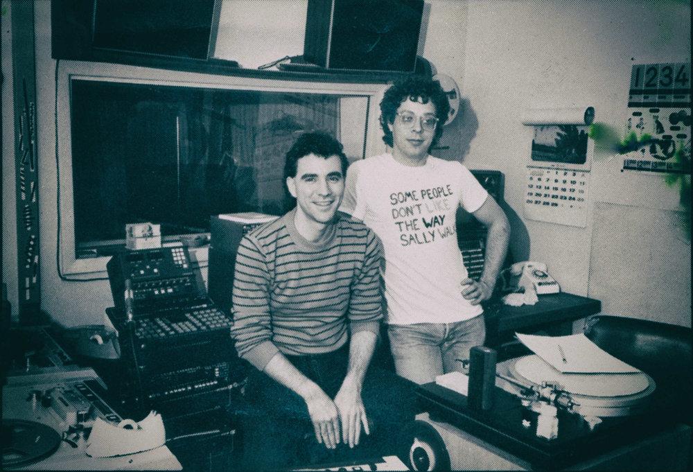Double Dee and Steinski - 1984 Clack Studio B, NYC