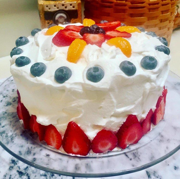 Danish Layer Birthday Cake Home