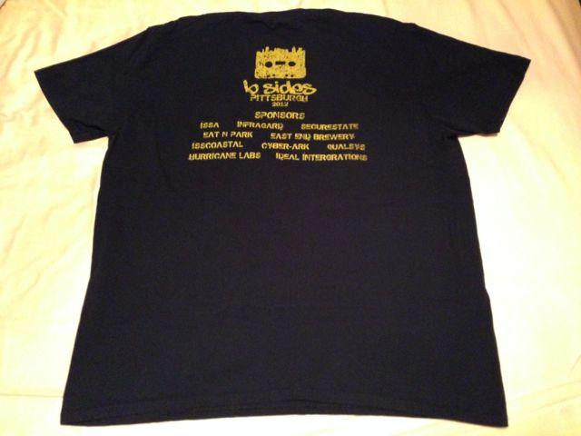 BSides 2012 Shirt Front
