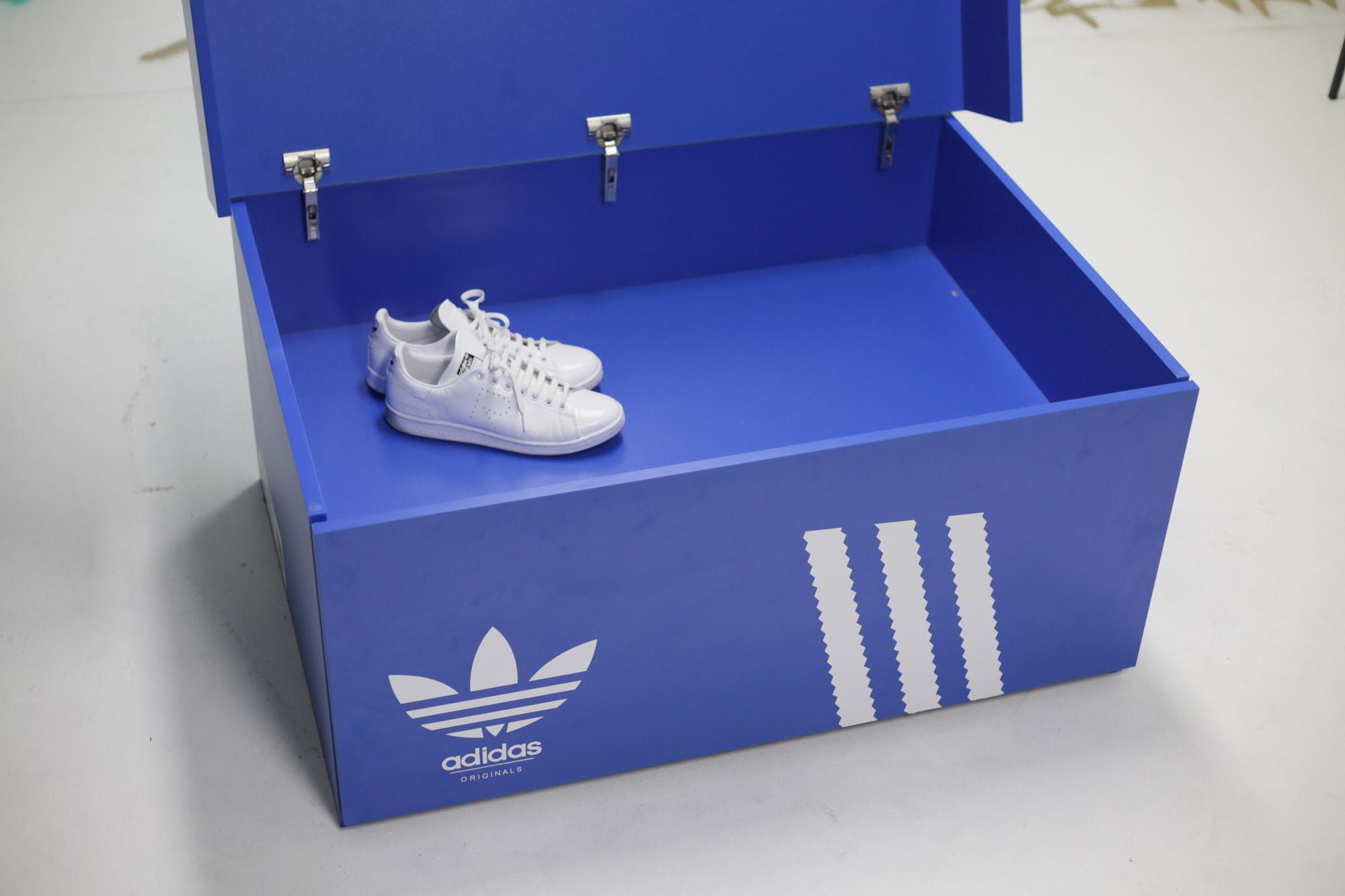 Adidas Shoebox Shop mega adidas shoebox — forty culture