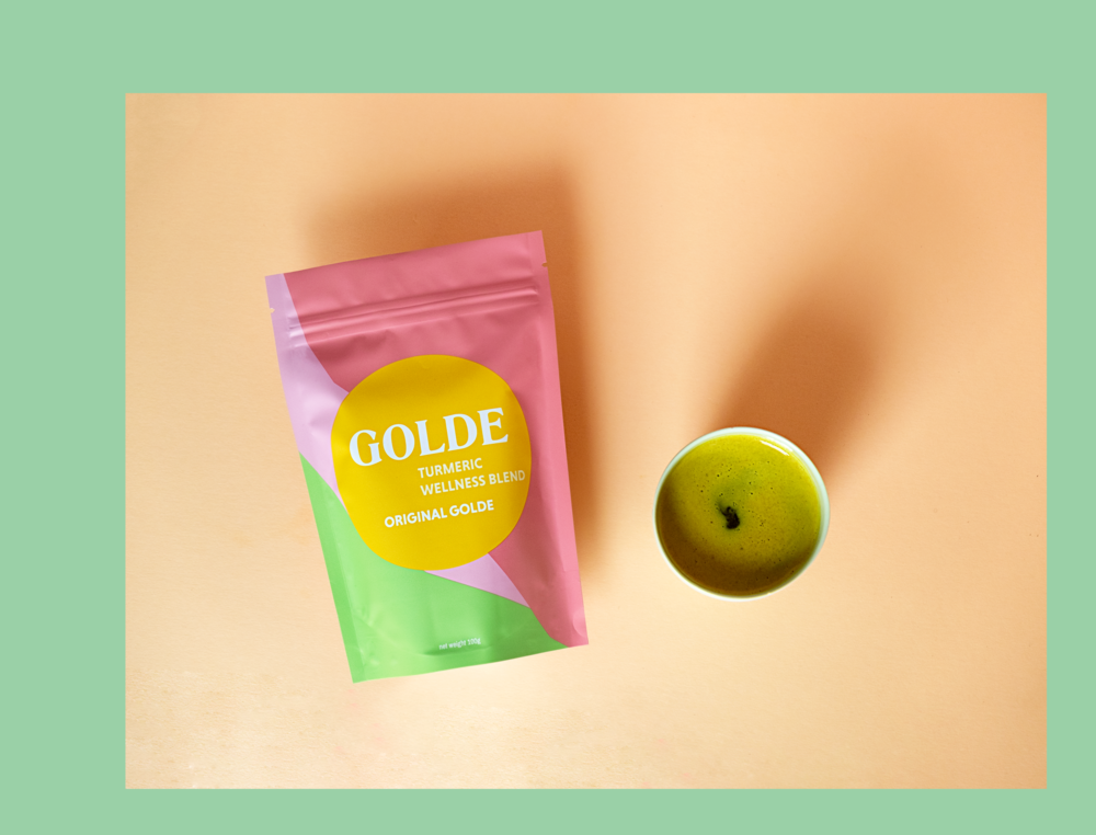 Wellness is golden. - Nourishing turmeric blend, for at-home or cafés.