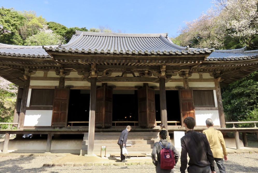 Copy of 600 year old venue in Sankeien Garden