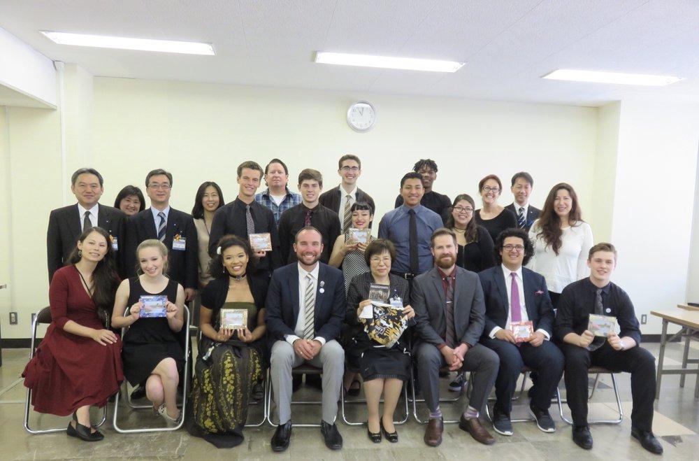 Meeting with Superintendent Okada