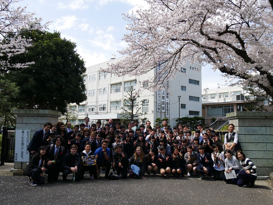 Saying goodbye to Kanazawa High School