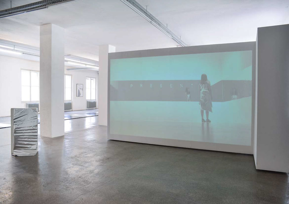 Lilo Nein,  The Audience is Present  - A Translation, 2015, Galerie 5020, Salzburg, Photography by Severin Weiser
